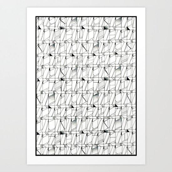 Flaw Art Print