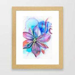 magical flower Framed Art Print
