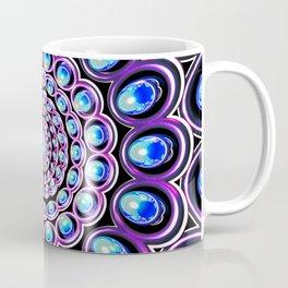Turquoise Iterations: Sprinkles of Amethyst Coffee Mug