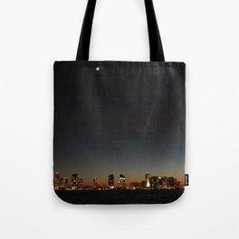 Hudson River View Tote Bag