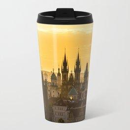 Prague Dawn Travel Mug