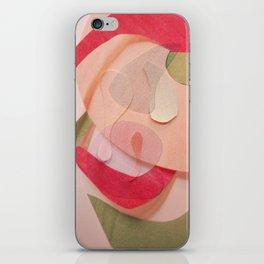 Blush (treize tulipes) iPhone Skin
