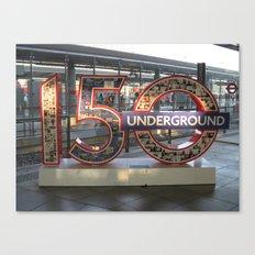Underground II Canvas Print