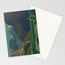 J. E. H. MacDonald, 'Lake O'Hara', 1929, oil on canvas Canadian Landscape Artist Stationery Cards