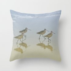 When the saints go marching in Throw Pillow