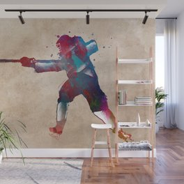 hockey player #hockey #sport Wall Mural