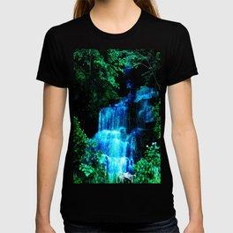 Enchanted waterfall. T-shirt