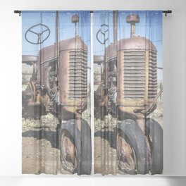 Old style Case Sheer Curtain