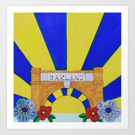 Historic Oakland Cemetery Atlanta Art Print