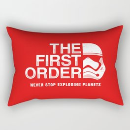 Never Stop Exploding Planets Rectangular Pillow