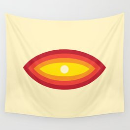 Retro Eye Wall Tapestry