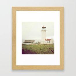 On a Hill Framed Art Print