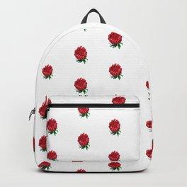 Beautiful Protea Polka Dot Pattern Backpack
