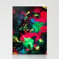 splash Stationery Cards featuring Splash by RIZA PEKER