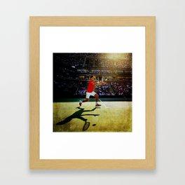Novak Djokovic Tennis Framed Art Print