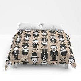 Charlie Chaplin Pattern Comforters