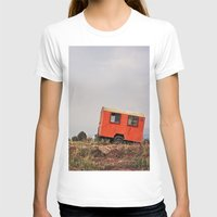 spanish T-shirts featuring Spanish Caravan  by Yehuda Swed