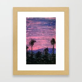 North View Framed Art Print