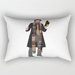 Fourth Doctor: Tom Baker Rectangular Pillow