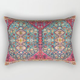N131 - Heritage Oriental Vintage Traditional Moroccan Style Design Rectangular Pillow