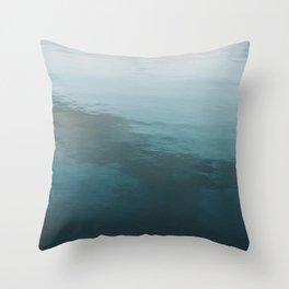 Tranquil Ocean Throw Pillow