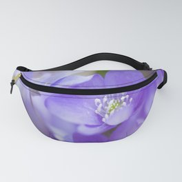 Violet Wild Flowers In Forest #decor #society6 #buyart Fanny Pack