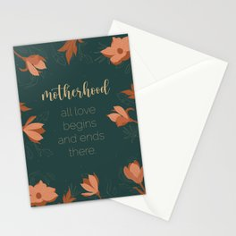 Motherhood Stationery Cards