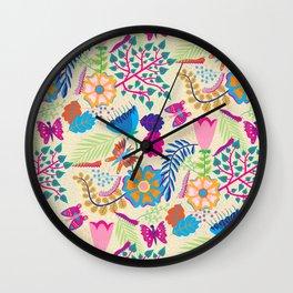 Home Collection - Catapillar Garden Wall Clock