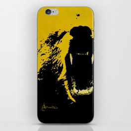"""TygerB.com """"Heated Grizzle"""" Painting iPhone Skin"""