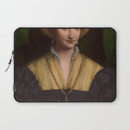 Bernardino Luini - Portrait of a Lady Laptop Sleeve