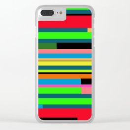 Palette 1 Clear iPhone Case