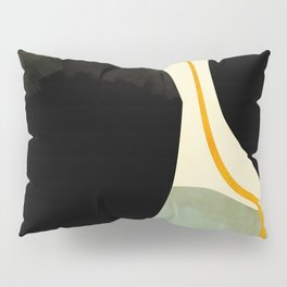 shapes organic mid century modern Pillow Sham