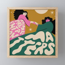 Representation Matters I Framed Mini Art Print