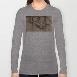 Dragons and Clouds by Tawaraya Sotatsu (俵屋 宗達) Long Sleeve T-shirt