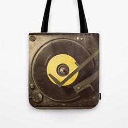 Vintage Tunes Tote Bag