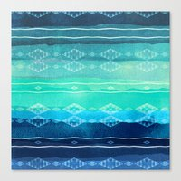 aelwen Canvas Prints featuring ocean by spinL
