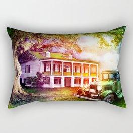 Antebellum Home Rectangular Pillow