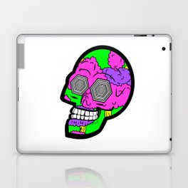 Psych Skull Laptop & iPad Skin