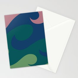 Bohemian Waves Stationery Cards