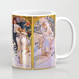 Vintage poster - Four Seasons Coffee Mug