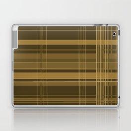 Brown Plaid Laptop & iPad Skin