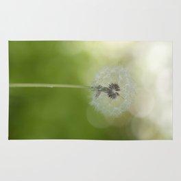 Dandelion in LOVE- Flower Floral Flowers Spring on #Society6 Rug