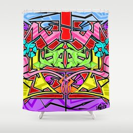 Abstract Arrows Shower Curtain
