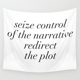 redirect the plot Wall Tapestry