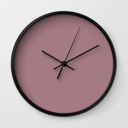 nostalgic rose Wall Clock