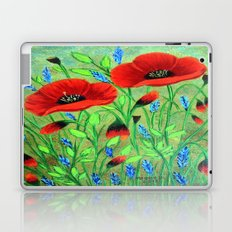 Poppies for you Laptop & iPad Skin