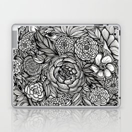 Peony Fascination Laptop & iPad Skin