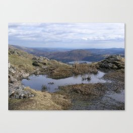 View from Gibson Knott Canvas Print