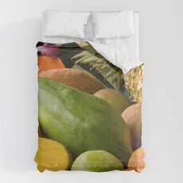 Tropical Fruit Comforters