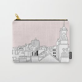 Rooftops - Brussels Marolles Quarter Carry-All Pouch